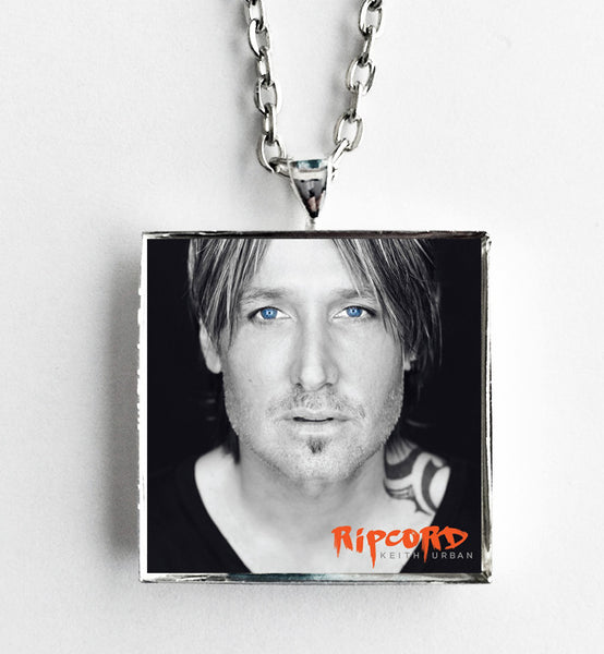 Keith Urban - Ripcord - Album Cover Art Pendant Necklace - Hollee