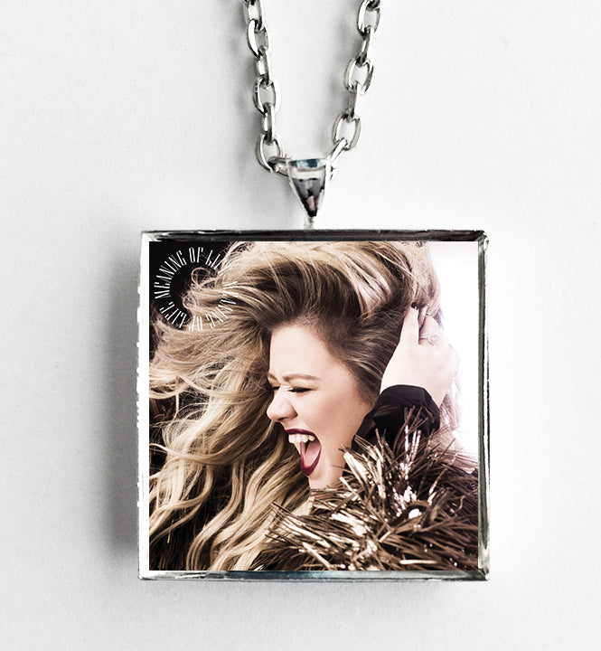 Kelly Clarkson - Meaning of Life - Album Cover Art Pendant Necklace