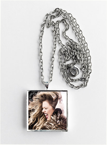 Kelly Clarkson - Meaning of Life - Album Cover Art Pendant Necklace - Hollee