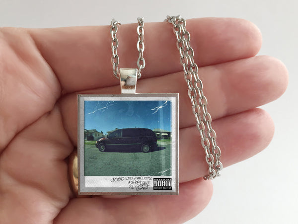 Kendrick Lamar - good kid, m.A.A.d city - Album Cover Art Pendant Necklace