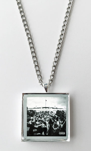 Kendrick Lamar - To Pimp A Butterfly - Album Cover Art Pendant Necklace