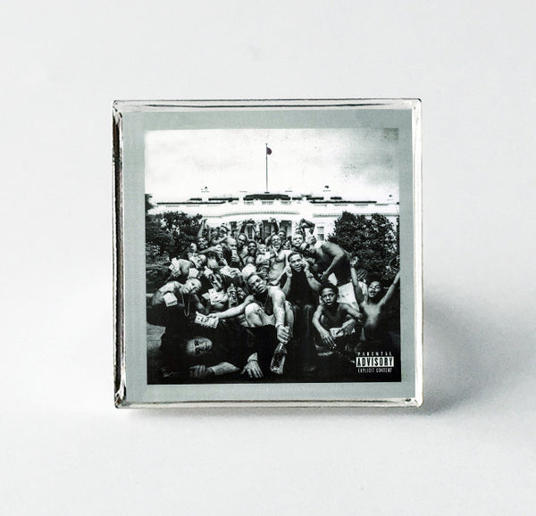 Kendrick Lamar - To Pimp A Butterfly - Album Cover Art Adjustable Ring - Hollee