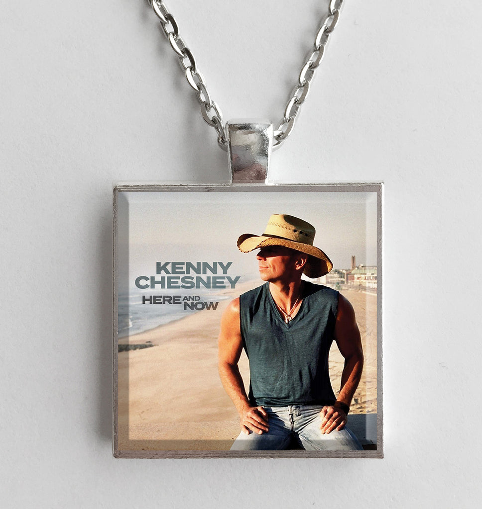 Kenny Chesney - Here and Now - Album Cover Art Pendant Necklace - Hollee
