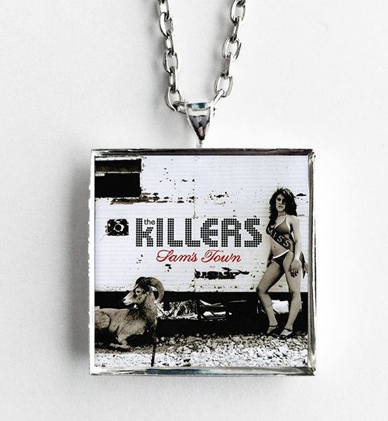 The Killers - Sam's Town - Album Cover Art Pendant Necklace