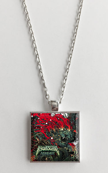 Killswitch Engage - Atonement - Album Cover Art Pendant Necklace - Hollee