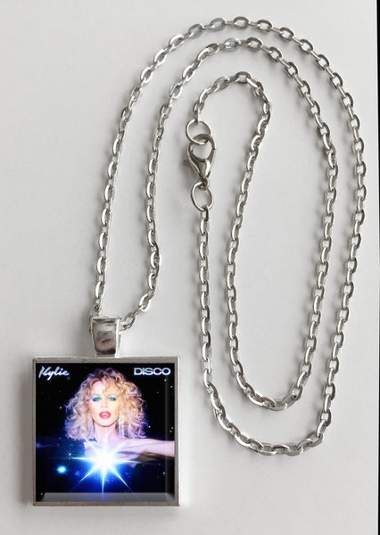 Kylie Minogue - Disco - Album Cover Art Pendant Necklace