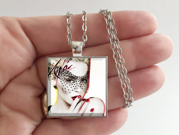 Kylie Minogue - X - Album Cover Art Pendant Necklace