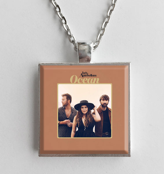 Lady Antebellum - Ocean - Album Cover Art Pendant Necklace - Hollee