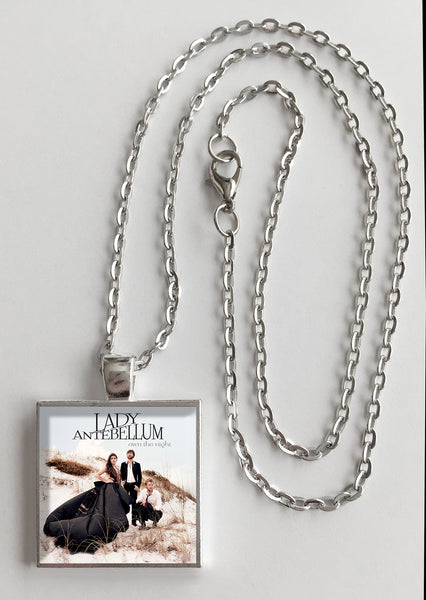 Lady Antebellum - Own the Night - Album Cover Art Pendant Necklace - Hollee