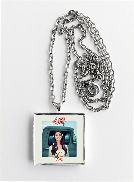 Lana Del Rey - Lust For Life - Album Cover Art Pendant Necklace - Hollee
