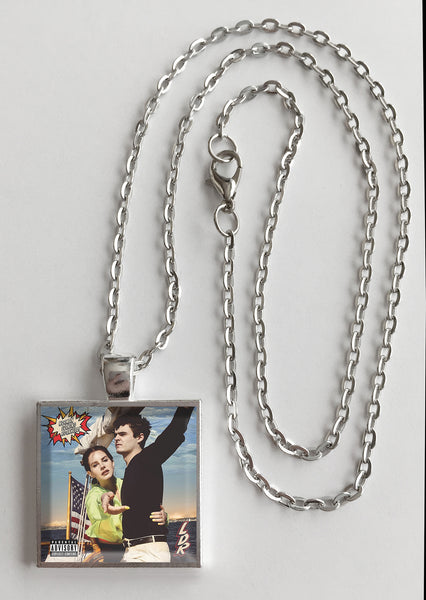 Lana Del Rey - Norman F'ing Rockwell - Album Cover Art Pendant Necklace - Hollee