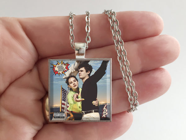 Lana Del Rey - Norman F'ing Rockwell - Album Cover Art Pendant Necklace
