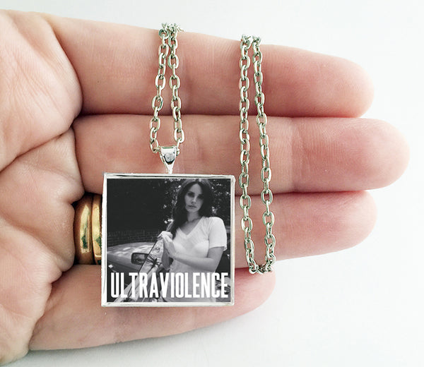 Lana Del Rey - Ultraviolence - Album Cover Art Pendant Necklace - Hollee
