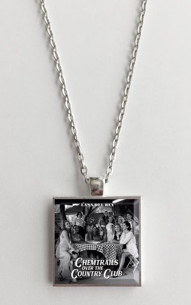 Lana Del Rey - Chemtrails Over the Country Club - Album Cover Art Pendant Necklace