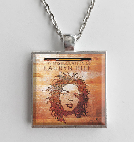 Lauryn Hill - The Miseducation of Lauryn Hill - Album Cover Art Pendant Necklace - Hollee