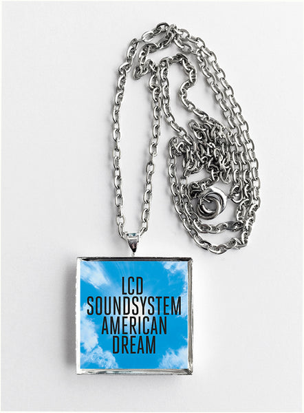 LCD Soundsystem - American Dream - Album Cover Art Pendant Necklace - Hollee