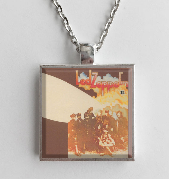 Led Zeppelin - II - Album Cover Art Pendant Necklace - Hollee