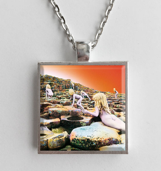 Led Zeppelin - Houses of the Holy - Album Cover Art Pendant Necklace
