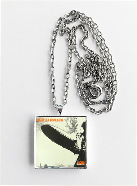 Led Zeppelin - Self Titled - Album Cover Art Pendant Necklace - Hollee