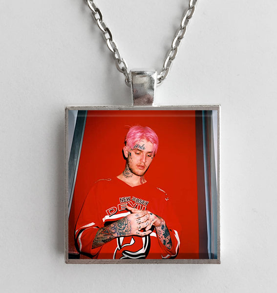 Lil Peep - Hellboy - Album Cover Art Pendant Necklace