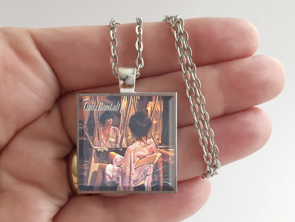 Linda Ronstadt - Simple Dreams - Album Cover Art Pendant Necklace - Hollee