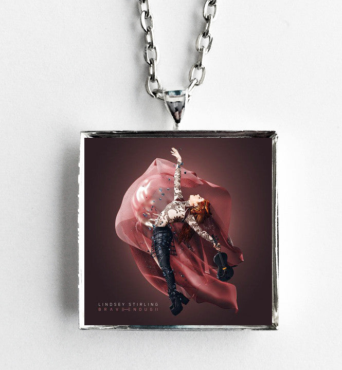 Lindsey Stirling - Brave Enough - Album Cover Art Pendant Necklace - Hollee