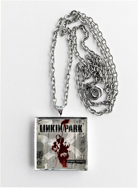 Linkin Park - Hybrid Theory - Album Cover Art Pendant Necklace - Hollee