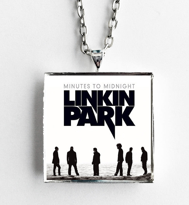 Linkin Park - Minutes to Midnight - Album Cover Art Pendant Necklace - Hollee