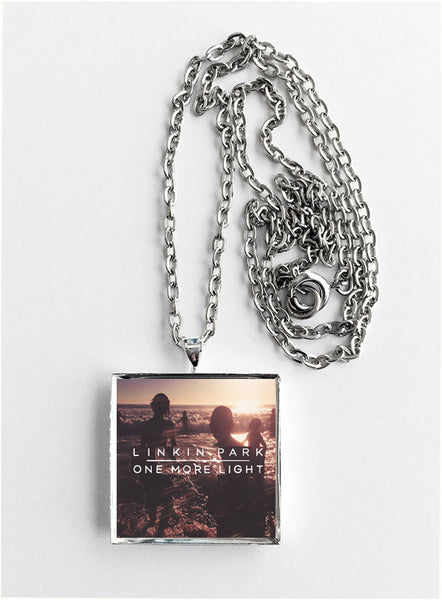 Linkin Park - One More Light - Album Cover Art Pendant Necklace - Hollee