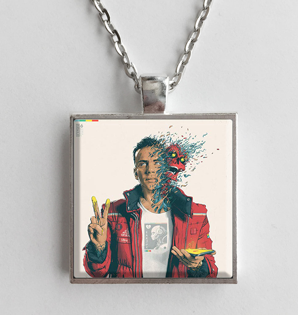 Logic - Confessions of a Dangerous Mind - Album Cover Art Pendant Necklace - Hollee