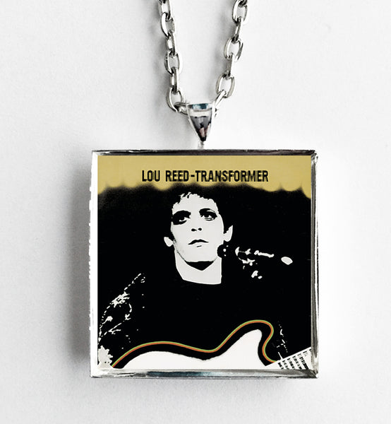 Lou Reed - Transformer - Album Cover Art Pendant Necklace - Hollee