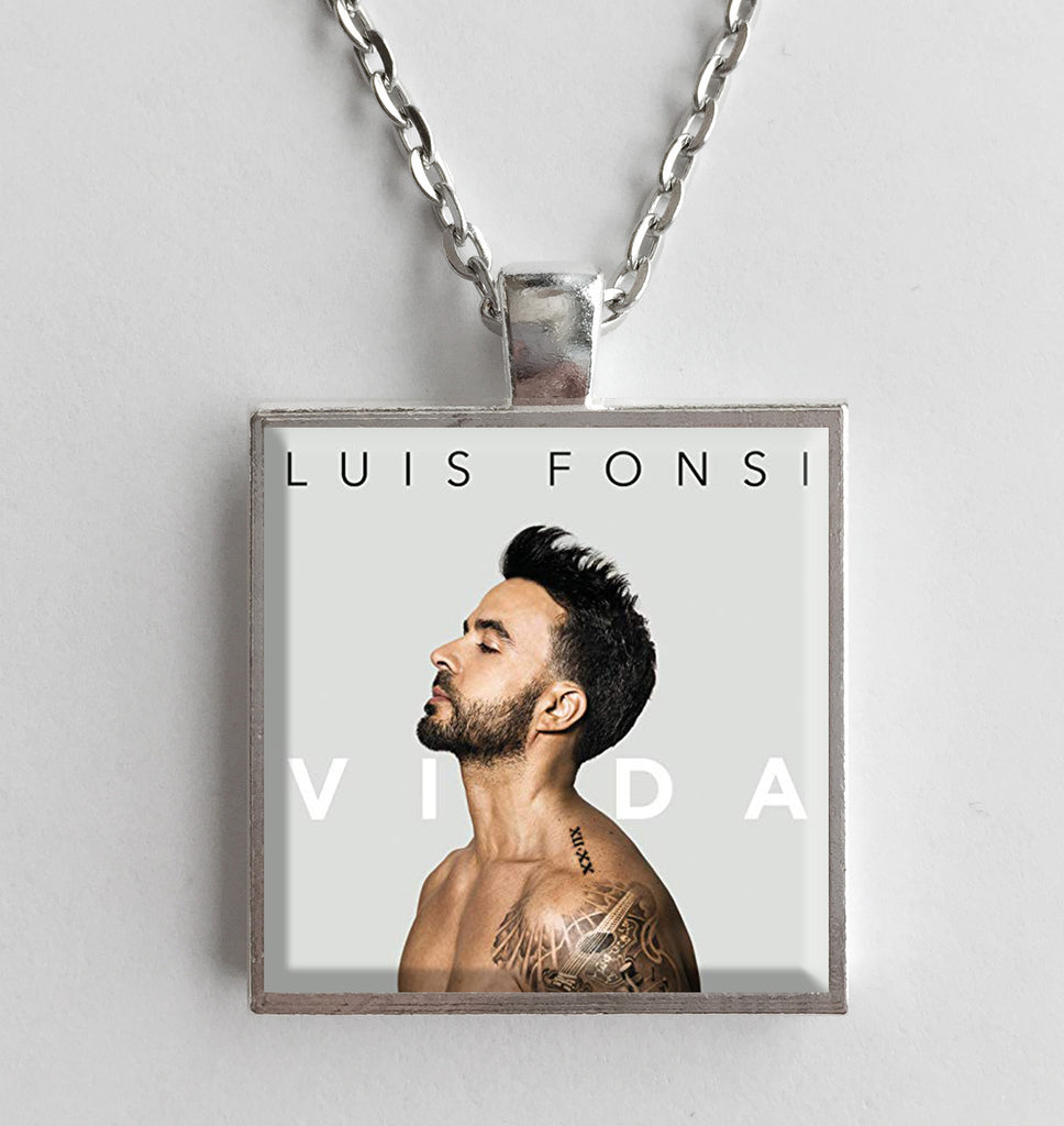 Luis Fonsi - Vida - Album Cover Art Pendant Necklace - Hollee