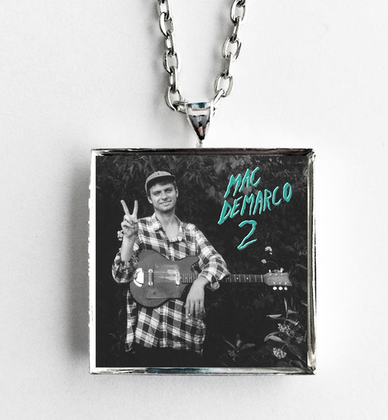 Mac Demarco - 2 - Album Cover Art Pendant Necklace - Hollee