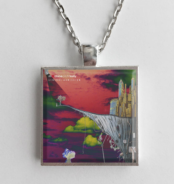 Machine Gun Kelly - General Admission - Album Cover Art Pendant Necklace - Hollee