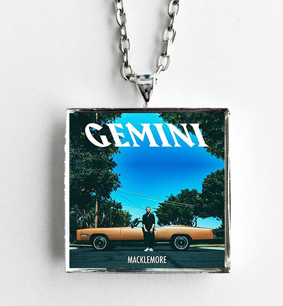 Macklemore - Gemini - Album Cover Art Pendant Necklace - Hollee