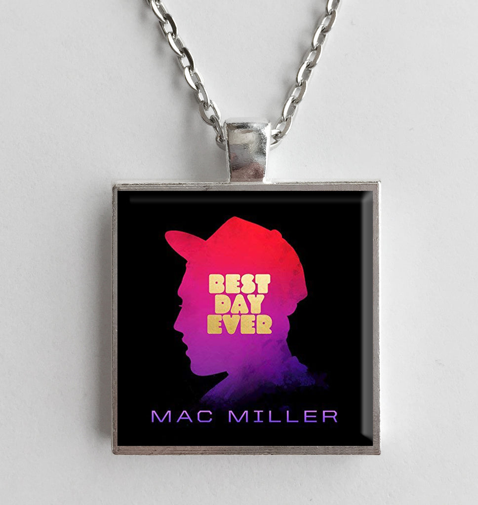 Mac Miller - Best Day Ever - Album Cover Art Pendant Necklace - Hollee