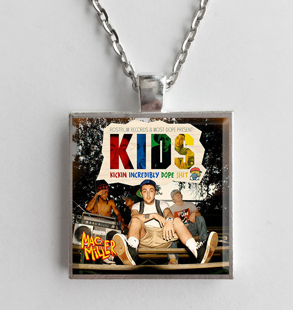 Mac Miller - KIDS - Album Cover Art Pendant Necklace - Hollee
