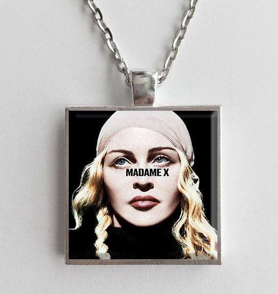 Madonna - Madame X - Album Cover Art Pendant Necklace - Hollee