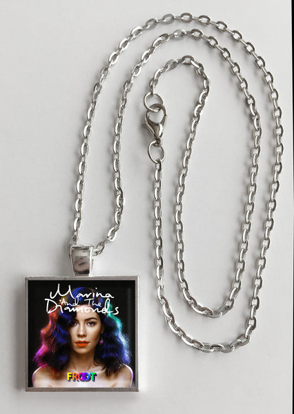 Marina and the Diamonds - Froot - Album Cover Art Pendant Necklace - Hollee