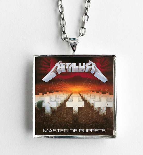 Metallica - Master of Puppets - Album Cover Art Pendant Necklace - Hollee