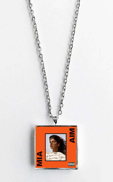 M.I.A. - Aim - Album Cover Art Pendant Necklace - Hollee