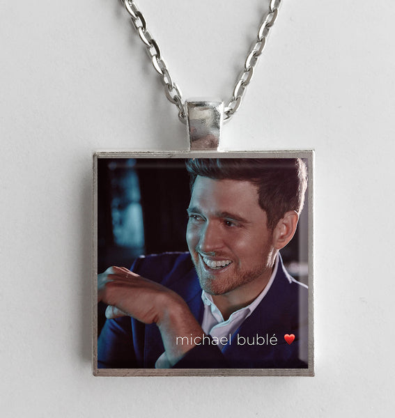 Michael Buble - Love - Album Cover Art Pendant Necklace - Hollee