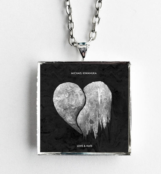 Michael Kiwanuka - Love & Hate - Album Cover Art Pendant Necklace - Hollee