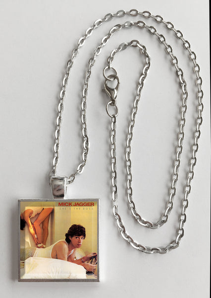 Mick Jagger - She's the Boss - Album Cover Art Pendant Necklace