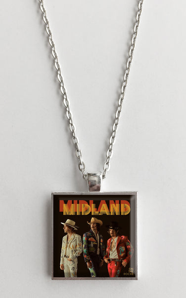 Midland - On the Rocks - Album Cover Art Pendant Necklace - Hollee