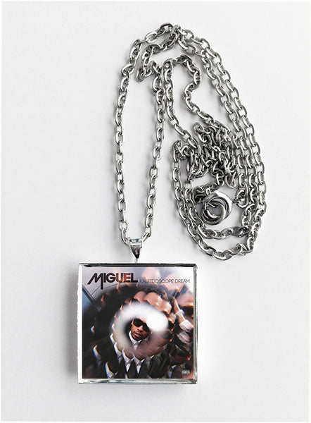 Miguel - Kaleidoscope Dream - Album Cover Art Pendant Necklace - Hollee