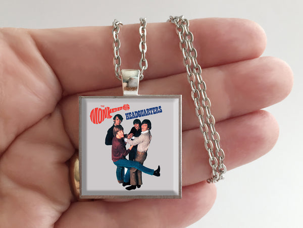 The Monkees - Headquarters - Album Cover Art Pendant Necklace - Hollee
