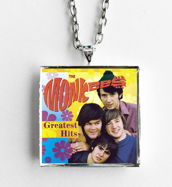 The Monkees - Greatest Hits - Album Cover Art Pendant Necklace - Hollee