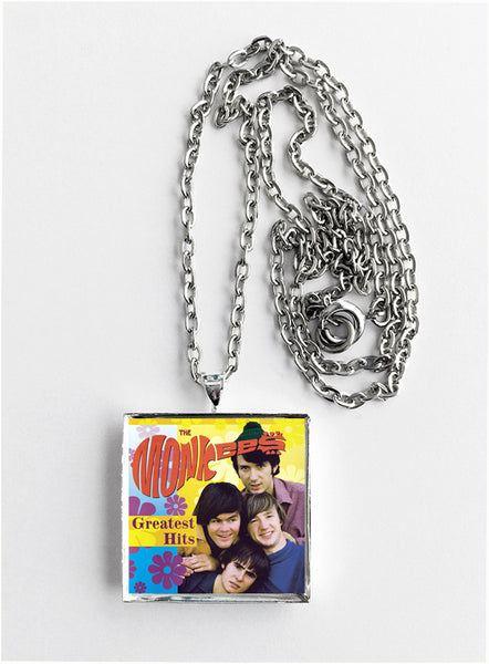 The Monkees - Greatest Hits - Album Cover Art Pendant Necklace