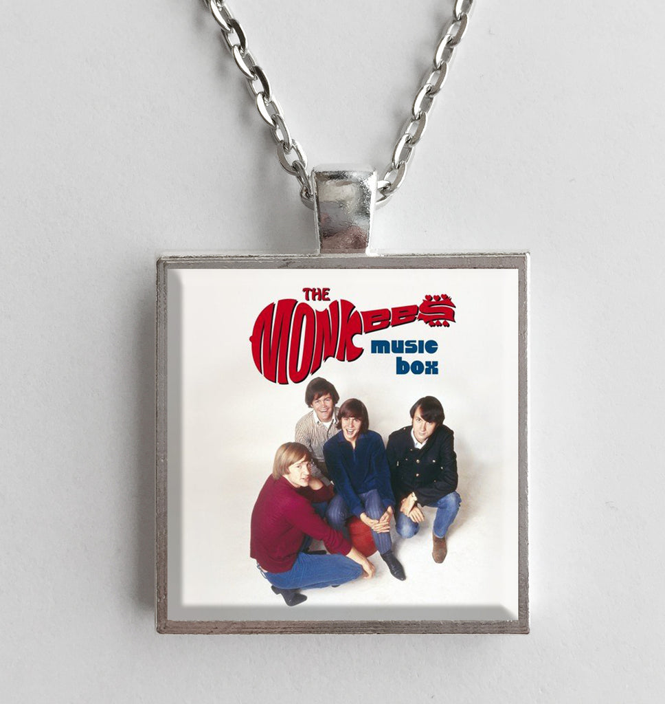 The Monkees - Music Box - Album Cover Art Pendant Necklace